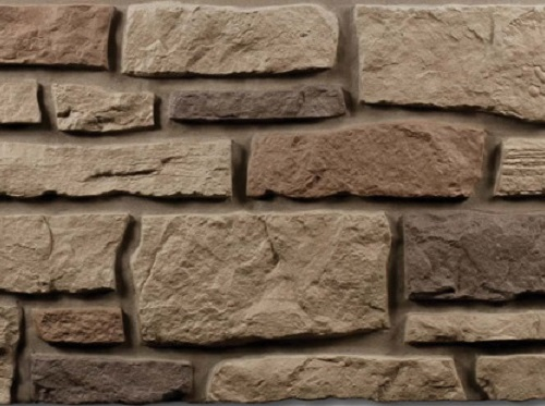Nailite creek ledgestone rocky mountain clay 3