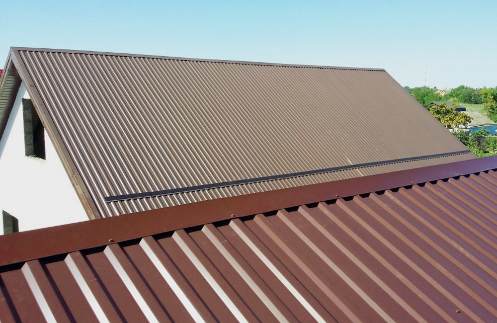 коксаки коричневый профлист крыши фото всего
